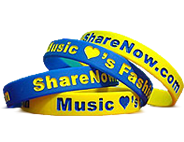 Rubber Awareness Wristbands